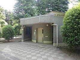 芝山付近のトイレ