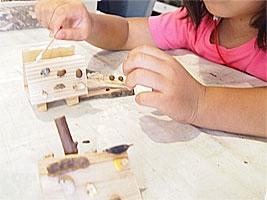 木の実工作教室