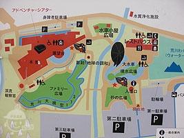 川の博物館案内図