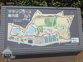マラソンコース案内図