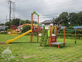 東エリアの複合遊具