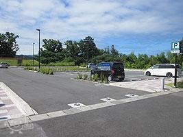 北エリア駐車場