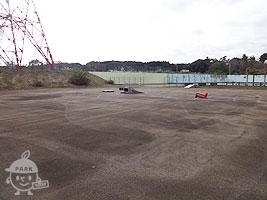壁打ちテニス場