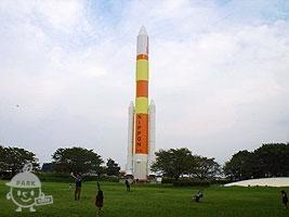 H=Ⅱロケット模型