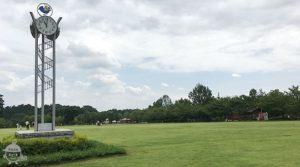 森の芝生広場