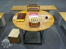 がっきのテーブル