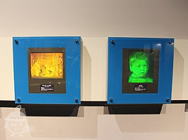 レーザーを利用した立体のうつし絵