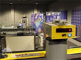 レーザー測量機