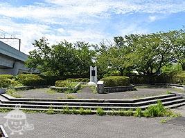 桜の広場(野球場側)