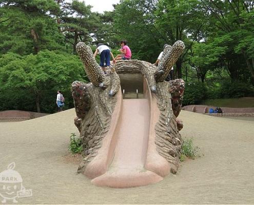 ドラゴンの砂山