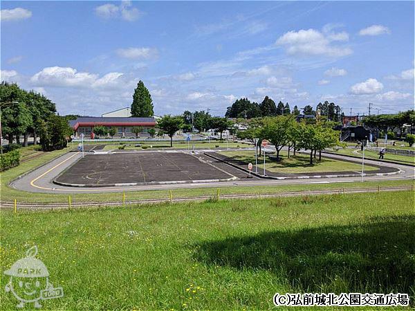 弘前城北公園交通広場