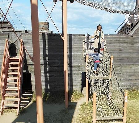 階段やネット
