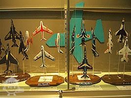 三沢基地に飛来した航空機