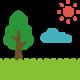 芝生で遊ぶ
