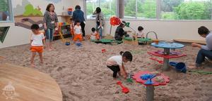 砂遊びのお部屋