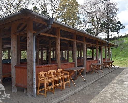 テーブル席(屋根付き)