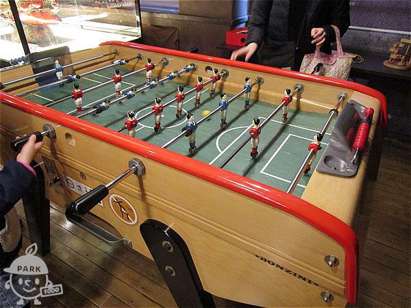 テーブルサッカー