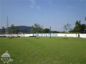 広がる公園