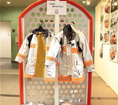 消防士さんの衣装