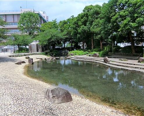 東小松川公園・水遊び場
