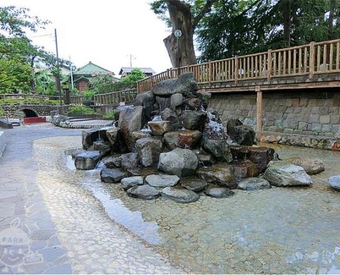古川けやき公園前・じゃぶじゃぶ池