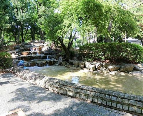 長島1号公園・じゃぶじゃぶ池