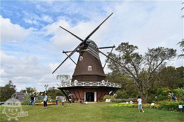【メルヘンの丘ゾーン】風車