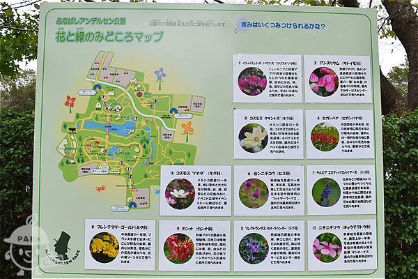 花と緑のみどころマップ