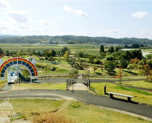 虹の丘からの景色