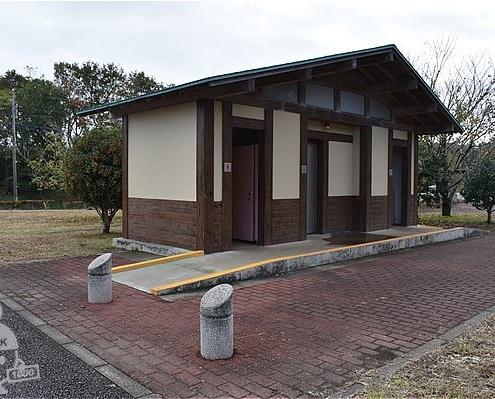 守谷城址公園・トイレ