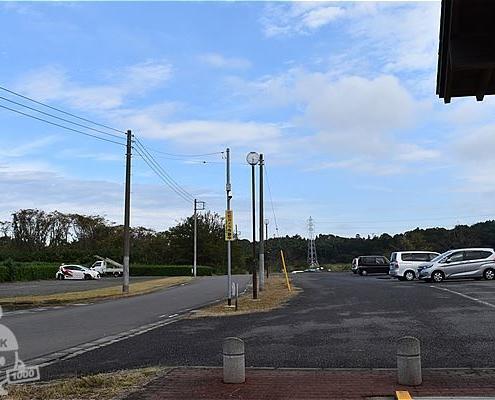 守谷城址公園・駐車場(北側)