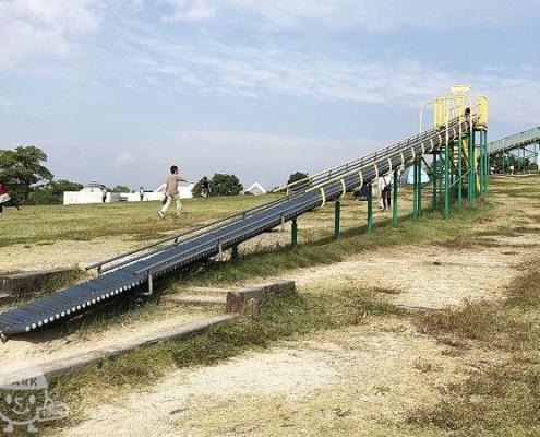 斜面広場・小型ローラーすべり台