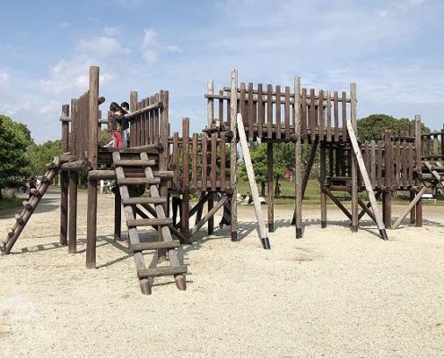 砦広場・城門の櫓