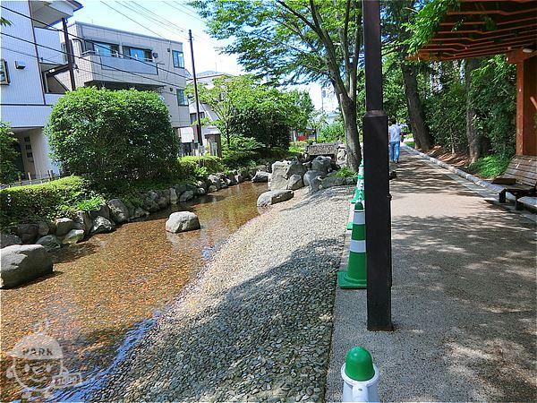 松江五中前・じゃぶじゃぶ池