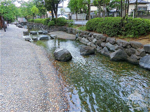 二之江さくら公園前・じゃぶじゃぶ池