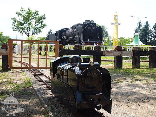 ミニ列車のD51