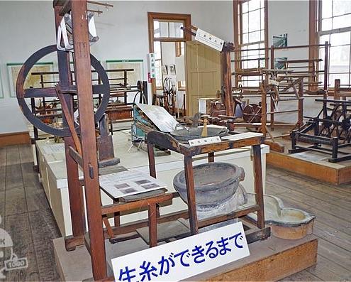 蚕糸記念館