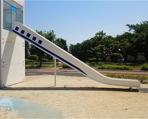 新幹線型滑り台