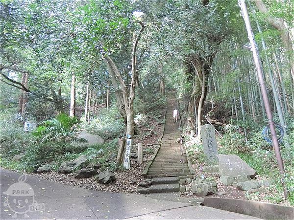 神社への階段(男坂)
