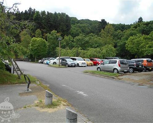 トリムの森駐車場