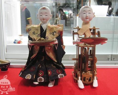茶運び人形(からくり人形)