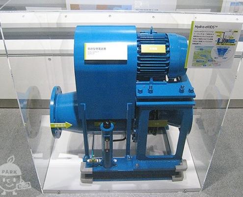 発電装置の模型