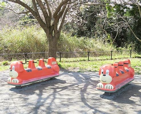 3人乗りのスライド遊具