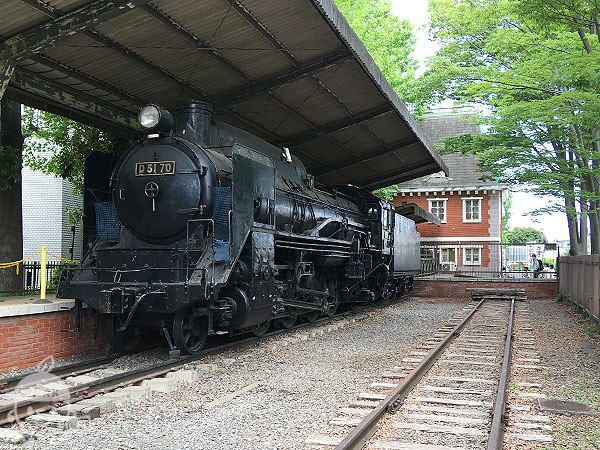 「D5170」号蒸気機関車
