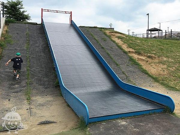 幅広滑り台